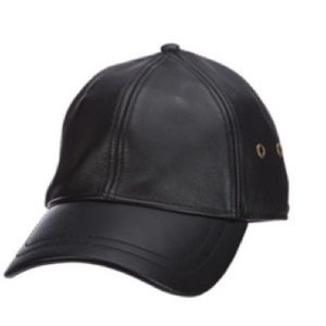 SCALA Peyten Leather Hat